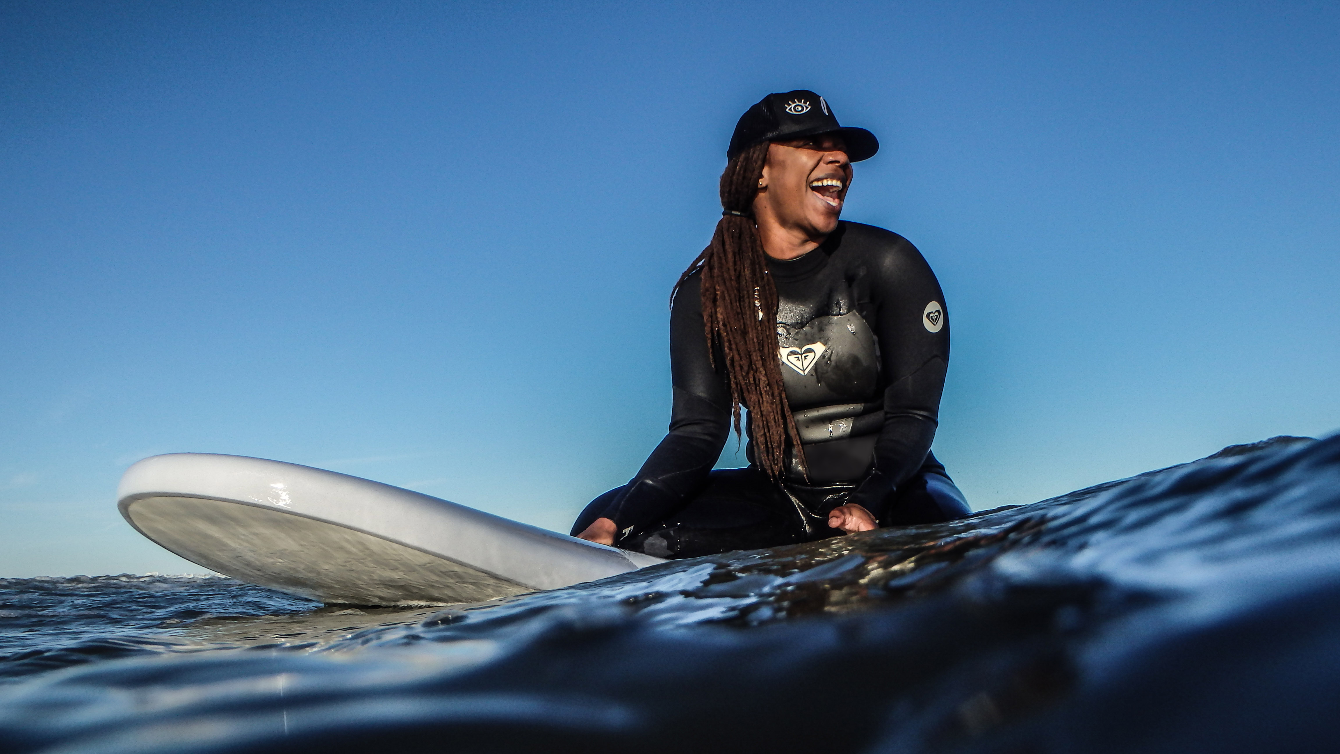 Catching a Wave for Black Female Surfers